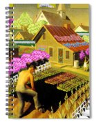 Spring In Townville Spiral Notebook