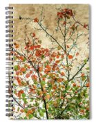 Spring Is Gone Spiral Notebook