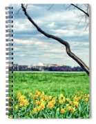 Spring Jog On The Potomac Spiral Notebook