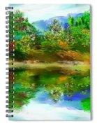 Spring Lake Spiral Notebook