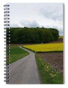 Spring Lines Spiral Notebook