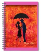 Sizzling Love Spiral Notebook