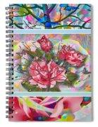 Spring Medley Spiral Notebook