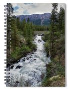 Spring Melt Spiral Notebook