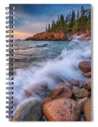 Spring Morning In Acadia National Park Spiral Notebook