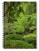 Spring Morning In The Garden Spiral Notebook