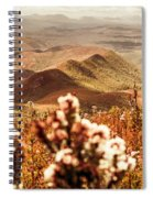 Spring Mountain Blossoms Spiral Notebook