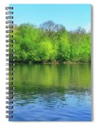 Spring On Barbadoes Island Spiral Notebook
