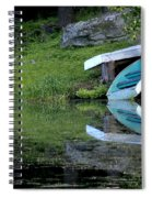 Spring On The Lake Spiral Notebook