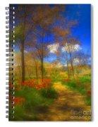 Spring Pathways Spiral Notebook
