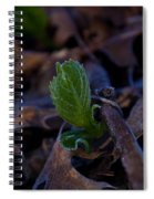 Spring Peeps Forth Spiral Notebook