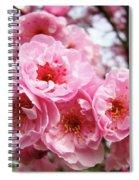 Spring Pink Tree Blossoms Art Prints Baslee Troutman Spiral Notebook
