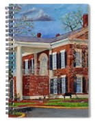 Spring Planting At The Dahlonega Gold Museum Spiral Notebook
