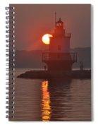 Spring Point Ledge Sunrise Spiral Notebook