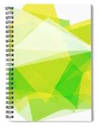 Spring Polygon Pattern Spiral Notebook