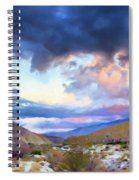 Spring Rain At Whitewater Canyon Spiral Notebook