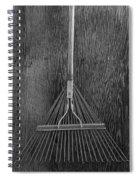 Spring Rake Spiral Notebook