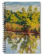 Spring Reflection Spiral Notebook