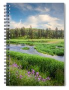 Spring River Valley Spiral Notebook