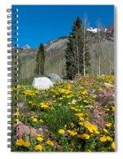 Spring Rocky Mountain Landscape Spiral Notebook