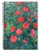 Spring Roses Spiral Notebook