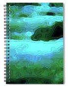 Spring Runoff Spiral Notebook