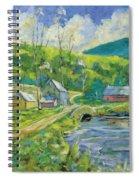 Spring Scene Spiral Notebook