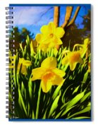 Spring Series Painting Spiral Notebook