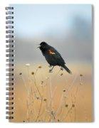 Spring Singer Spiral Notebook