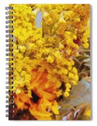 Spring Sky Bouquet Spiral Notebook