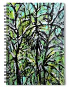 Spring Snow Spiral Notebook