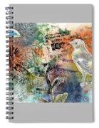 Spring Song Spiral Notebook