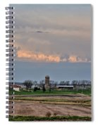 Spring Storms Farm 2 Spiral Notebook