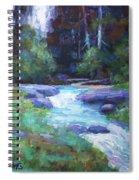 Spring Stream Spiral Notebook