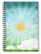 Spring Summer Spiral Notebook