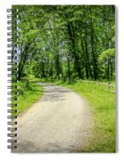 Spring Time In Rural Ohio Spiral Notebook