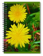 Spring Time Series Painting Spiral Notebook