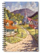 Spring Time Sun Spiral Notebook