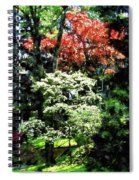 Spring Trees Spiral Notebook