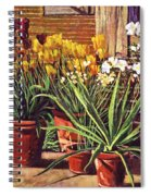 Spring Tulips And White Azaleas Spiral Notebook