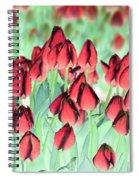 Spring Tulips - Photopower 3012 Spiral Notebook
