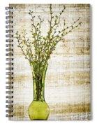 Spring Vase Spiral Notebook