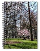 Spring Walk On Campus Spiral Notebook