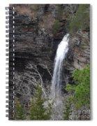 Spring Waterfall At Petit Jean Spiral Notebook