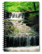 Spring Waterfall Spiral Notebook