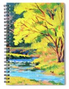 Spring Willow Spiral Notebook