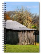 Spring Woods And Barn Spiral Notebook