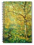 Spring Woods Spiral Notebook