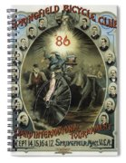 Springfield Bicycle Club 1886 Spiral Notebook