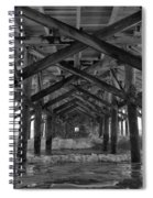 Springmaid Pier In Myrtle Beach South Carolina Spiral Notebook
